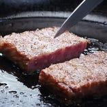 近江牛サーロインのしゃぶしゃぶ&近江牛ステーキを堪能【仙郷】