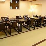 2部屋は仕切りを外して大広間として利用することも可能です。