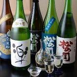 人気の「松の司」など、滋賀が誇る地酒も多数、ご用意しています。