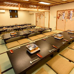 お席はテーブル、座敷とどちらも対応できます。ご相談ください。