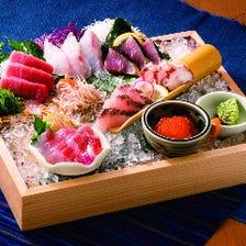 新鮮な天然魚