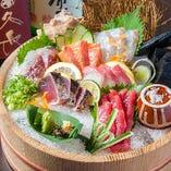 鮮魚で心も新鮮に☆毎朝仕入れる魚の鮮度をお確かめ下さい!