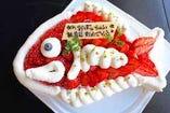 おめで鯛ケーキ