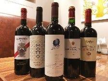 ワイン40種類以上揃えてます!!