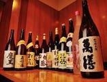 日本酒は苦手?でも、焼酎も梅酒も多数ご用意しております。