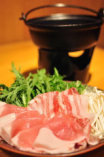 【要予約】日本酒しゃぶしゃぶ鍋~イべリコ豚で~