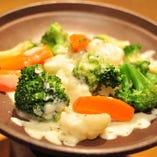 チーズ温野菜