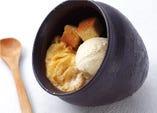 焼き卵アイス