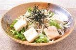 豆腐と大根サラダ
