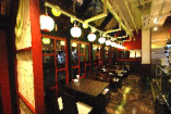店内からは虎ノ門の夜景も見ることができます