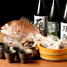 山口を中心に諸国漁場から旬魚を直送
