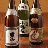 山口地酒、本格焼酎もお好きなだけ!グレードアップ飲放はすごい
