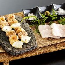 福の花名物【溶岩焼】でお肉を食す!