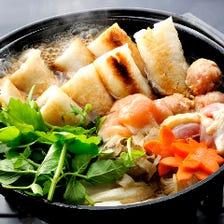 秋田郷土料理「きりたんぽ鍋」