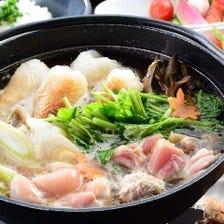 □ 比内地鶏きりたんぽ鍋 一人前2,640円(税込)
