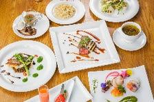【記念日・お祝いに】厳選素材のフルコース Legumes Special ディナー