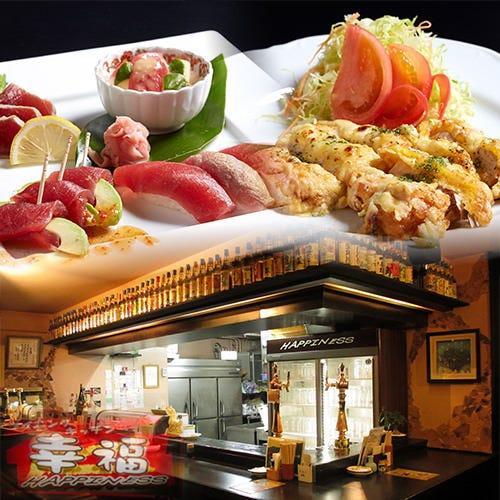 創作料理や沖縄料理が盛り沢山! 幹事さん必見プランいろいろ。