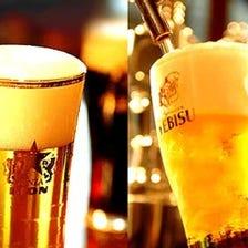 こだわりのビールを飲み放題で!!