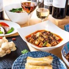◆本格四川料理が気軽に楽しめる