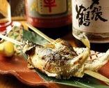 方舟名物! 岩魚の天然塩焼き丸一匹!日本酒のお供に最高です!