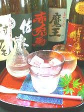 選び抜いた日本酒・焼酎をご提供!