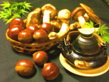 秋の味覚☆松茸☆ 土瓶蒸し最高です!