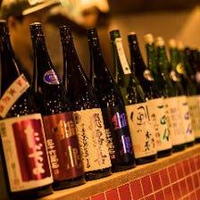 [240円~]全国の日本酒を常備50種