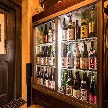 日本酒をワイングラスで♪価格安く240円〜