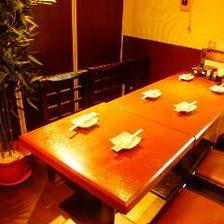 少人数個室◎6~50名様等最適な個室席
