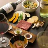 熊本産和王のステーキを楽しむ「お手軽コース 弁慶」