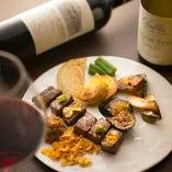 ステーキと相性抜群!ワインと共にお楽しみください!