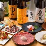 奥三河の段戸牛が味わえるコースは、4,500円(税抜)~ご用意!