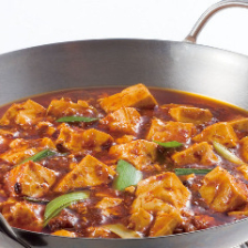 重慶式麻婆豆腐(辛口)