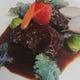 牛ホホ肉の煮込み その日の野菜と…