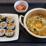 韓国海苔巻き&ラーメンセット