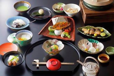 京都吉兆 松花堂店 コースの画像