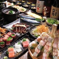 炭火野菜巻と魚串 ときわ福島店