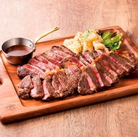 《昼飲み/ランチ宴会》【クラウンコース(飲み放題付)】~トリプルステーキ肉盛のコース