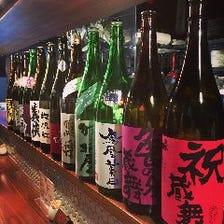 店主の叔父が作る酒「弥栄鶴」