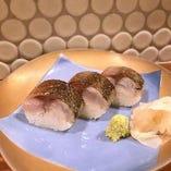 絶品炙り鯖寿司!