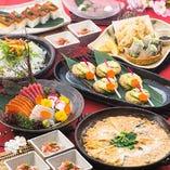 【ご宴会】 ご予算に合わせて…食べ飲み放題プランが豊富!!
