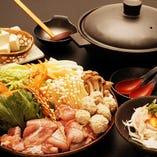 近江軍鶏生姜コラーゲン鍋