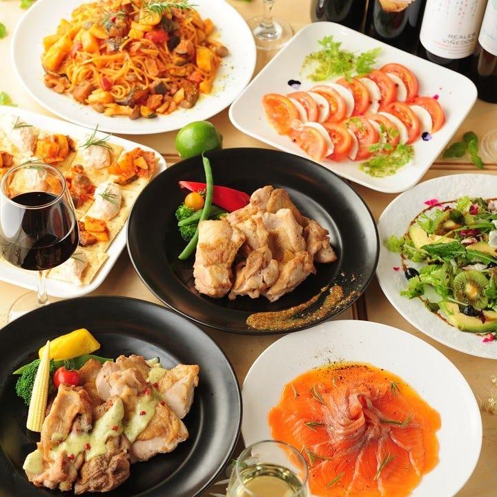 特別なディナーを彩る華やかなコース