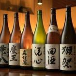 プレミア焼酎/日本酒