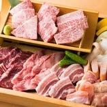 ボリューム満点!当店自慢のお肉を心ゆくまでお楽しみ下さい。