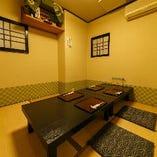 御接待や御会食に最適な完全個室完備。ご予約はお早めに!