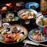 コースは3,500円(税抜)から。ご会食にご利用ください。