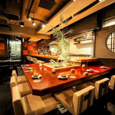 海鮮で日本酒を楽しむ 呉平 品川店 店内の画像