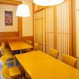 県外からのお客様のおもてなしに【完全個室】テーブル個室/4~8名様