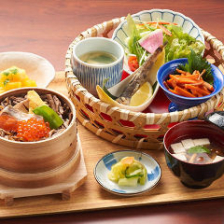 福島県郷土料理「わっぱめし」を堪能